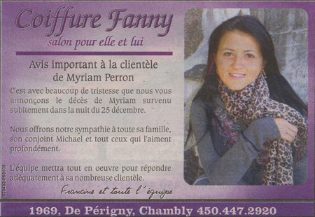 Myriam Perron